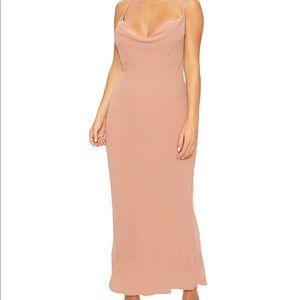 naked wardrobe Draped Maxi Dress